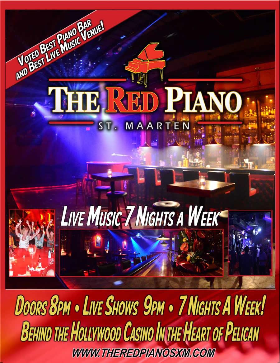 The Red Piano St. Maarten