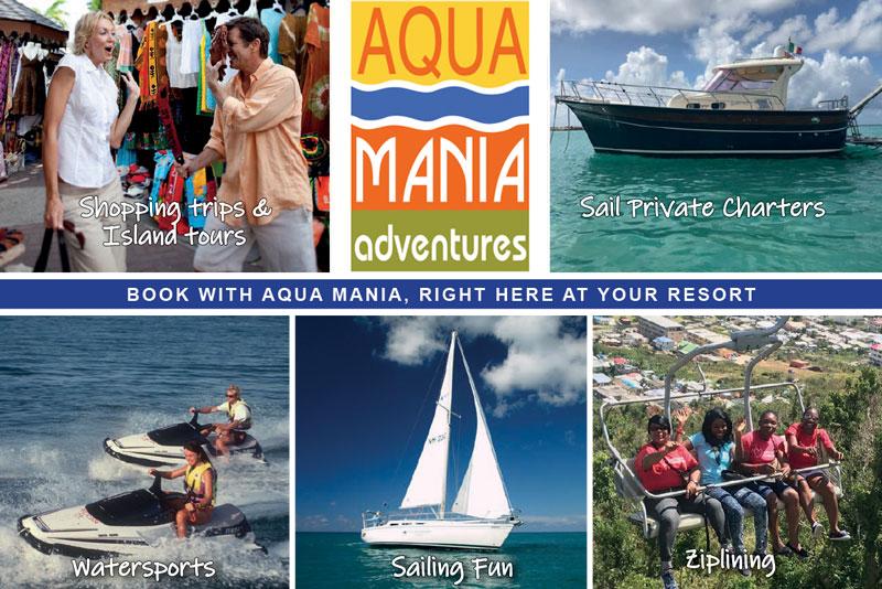 Téléchargez la liste des activités d'Aqua Mania