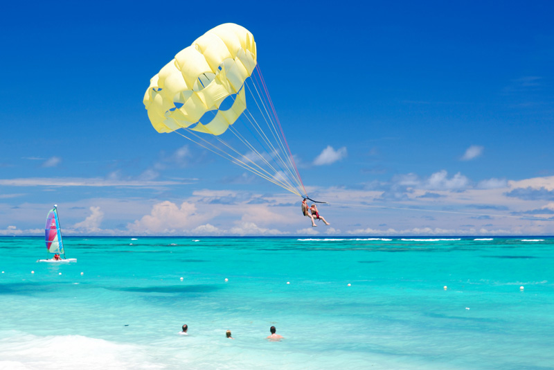 Parachute ascensionnel Aqua Mania