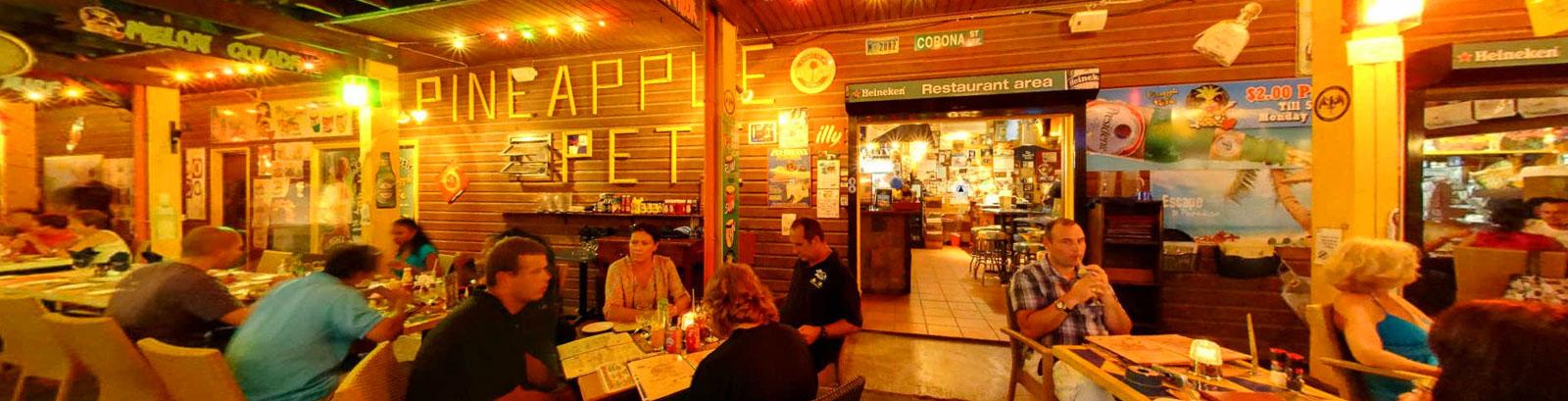 Pineapple Pete Restaurant & Bar - Nos recommandations au Simpson Bay Resort