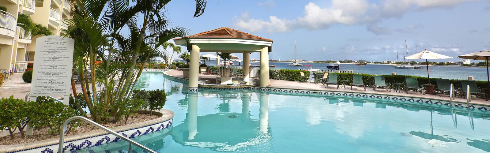 Webcams, Les Villas à Simpson Bay Resort à St. Maarten
