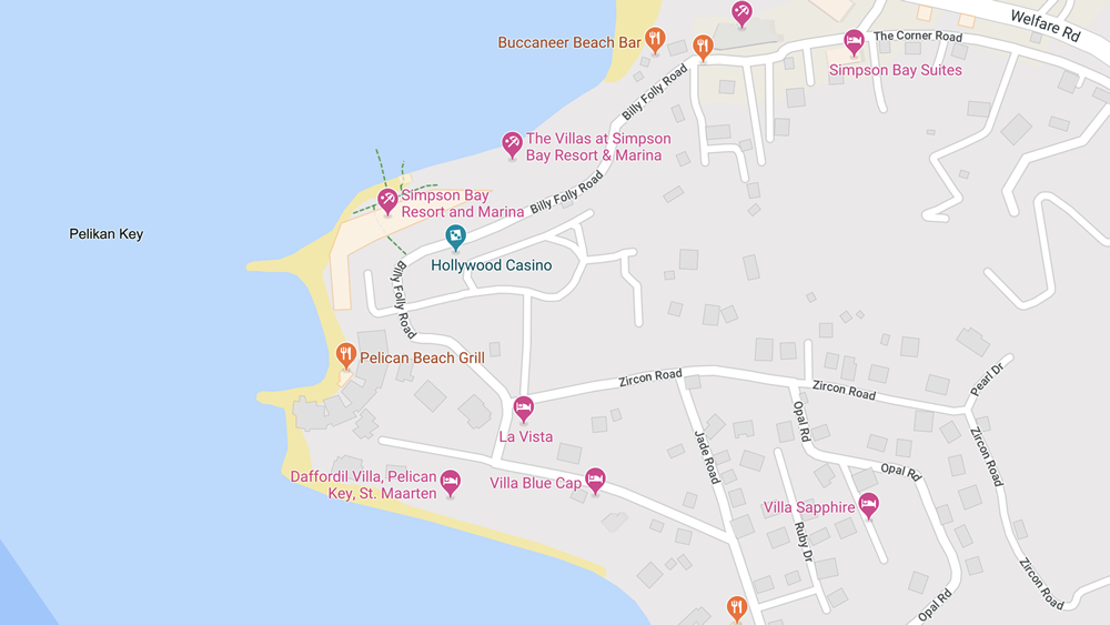 Simpson Bay Resort & Marina Map