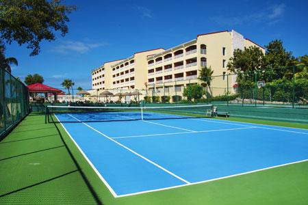 Court de tennis à Simpson Bay Resort & Marina