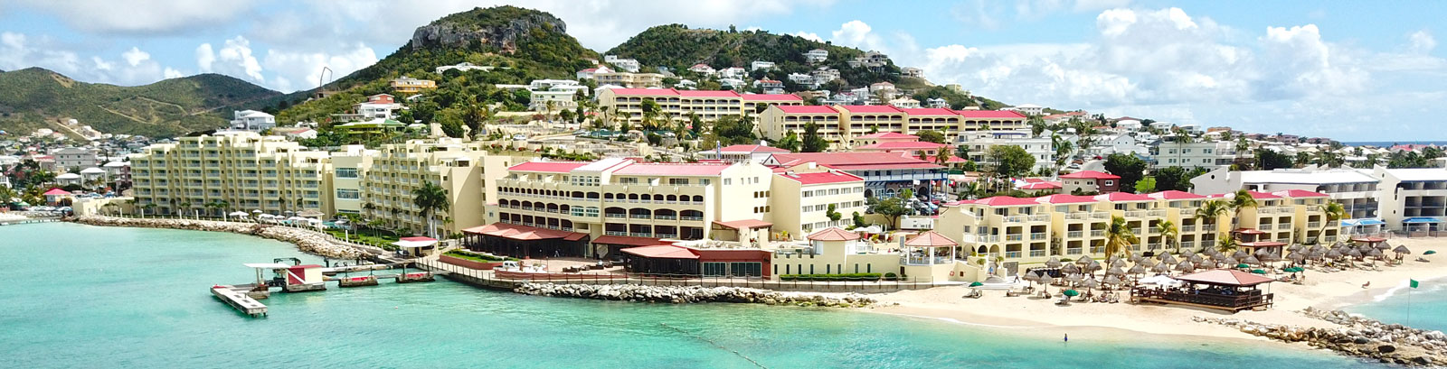 Plan du site, Simpson Bay Resort & Marina