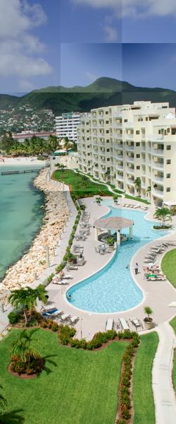 plan du site de simpson bay resort interne