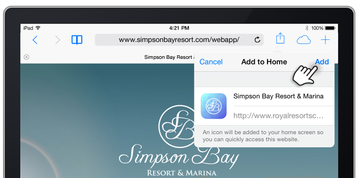 Simpson Bay Resort & Marina devient mobile